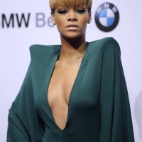 Elegant Rihanna at Echo Awards