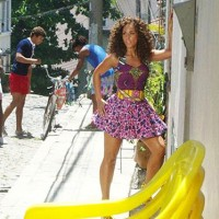 Beyonce & Alicia Keys: Flamboyant Rio fashion