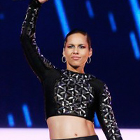 Alicia Keys Performs At NBA All-Star Halftime Show