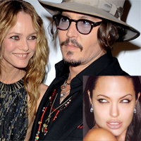 Vanessa Paradis Blames Angelina Jolie for her Break up with Johnny Depp