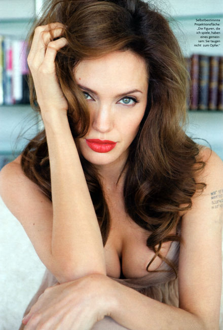 Angelina Jolie is a psycho, according to the ex-employee