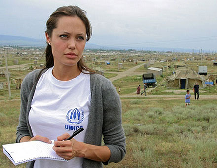 Angelina Jolie addresses World Refugee Day