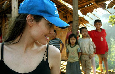 Angelina Jolie sat down with Ann Cury to talk about World refugee Day