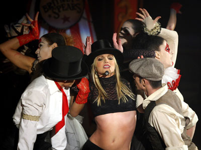 Britney Spears is top searched star in 2008
