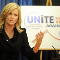 Charlize UNites to End Violence against Women