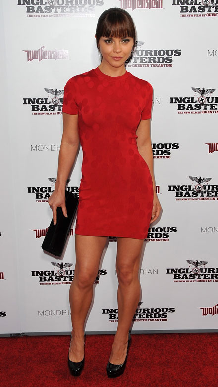 Сelebrities heart red in Fall/Winter 2009-2010 fashion season - Christina Ricci