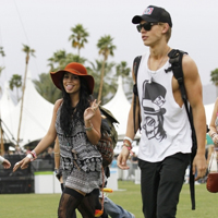 Celebs at Coachella 2012