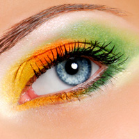 Make a Statement with Coloured Contacts