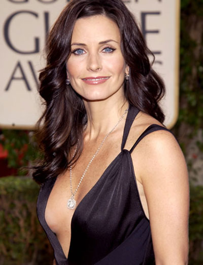 Courtney Cox is the face of Avon's Spotlight perfume