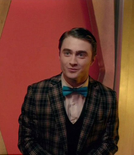 Daniel Radcliffe in a 2011 MTV Movie Awards promo