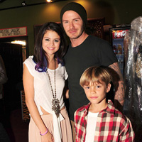 David Beckham Introduced His Sons to Selena Gomez