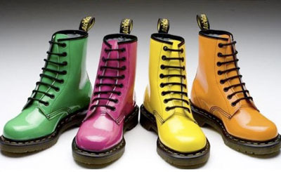 Doc Martens neon bright