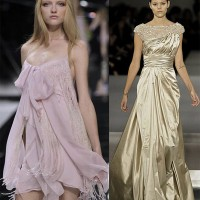 Elie Saab S/S 2009 line at Paris Fashion Week