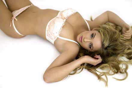 Keeley Hazell is No. 5 in FHM's World's Sexiest Woman 2009 poll