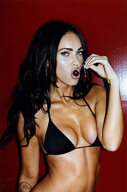 Megan Fox is No. 2 in FHM's World's Sexiest Woman 2009 poll