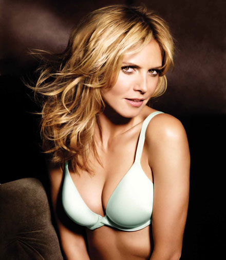 Heidi Klum is face and body of Perfect Bra by Victoria's Secret