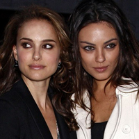 Natalie Portman and Mila Kunis are the Most Searched for Movie Stars