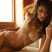 Irina Shayk: I Love Small Brazilian Bikini