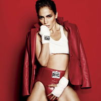 Jennifer Lopez Looks like Dude in Boxing Inspired Shoot
