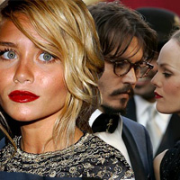 Is Johnny Depp Hooking Up with Ashley Olsen?