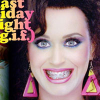 Katy Perry channels the inner ugly Betty in new Last Friday Night cover art