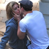 Kellan Lutz is back with AnnaLynne. Sorry girls