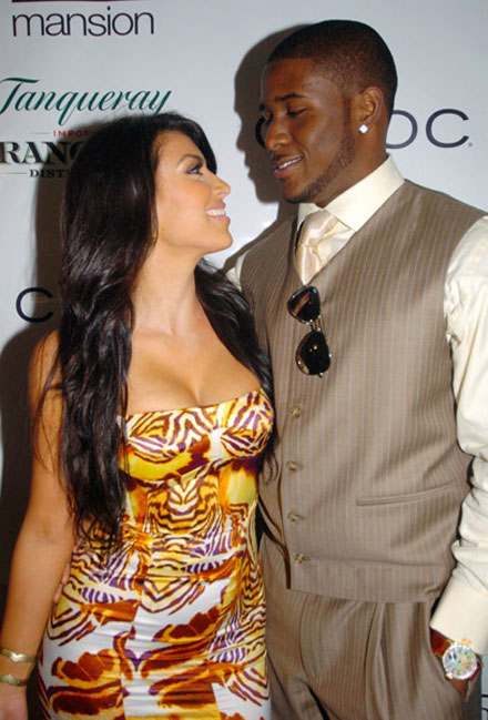 Kim Kardashian and Reggie Bush split