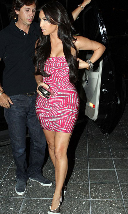Kim Kardashian is wearing the same dress as Britney Spears