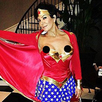 Kris Jenner Experiences Awful Wardrobe Malfunction in Wonder Woman Costume