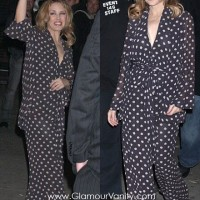 Celebrities go pajamas