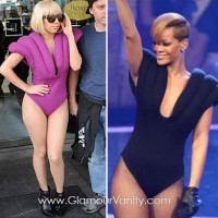 Who wore it better? Lady GaGa vs. Rihanna
