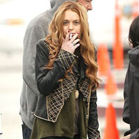 Lindsay Lohan Was Late and Unprepared For Her First Day at Work on 'Glee'.