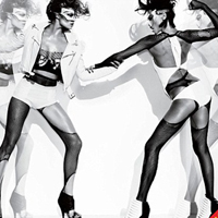 Adriana Lima and Doutzen Kroes Fought at V magazine S&#038;M Shoot