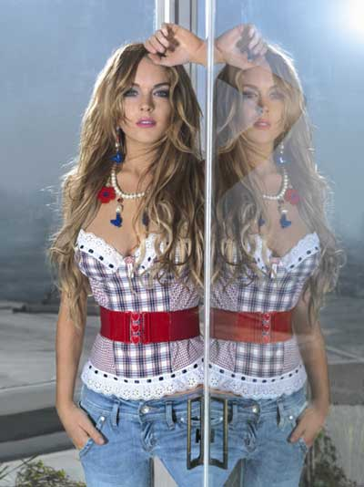 Lindsay Lohan is new face for Fornarina