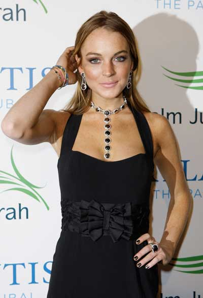 Lindsay Lohan is top searched in 2008