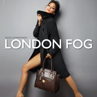 Nicole Scherzinger In London Fog Campaign