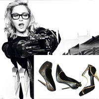 First Look at Madonna&#8217;s Shoe Line
