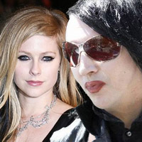 Avril Lavigne Dating Marilyn Manson?