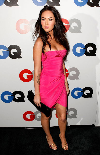 Megan Fox at GQ Men of the Year awards 2008