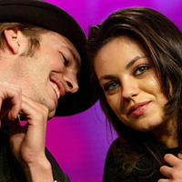 Mila Kunis and Ashton Kutcher are Not Dating