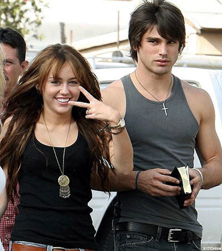Miley Cyrus and Justin Gaston call it quits