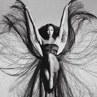 Naomi Campbell Transforms into Tina Turner for V Magazine