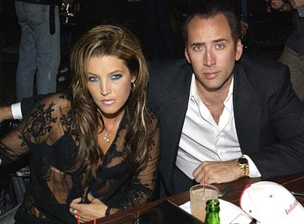 Shortest Hollywood marriages: Nicholas Cage and Liza Marie Presley