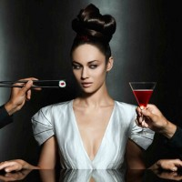 Bond girl is new Campari calendar hottie