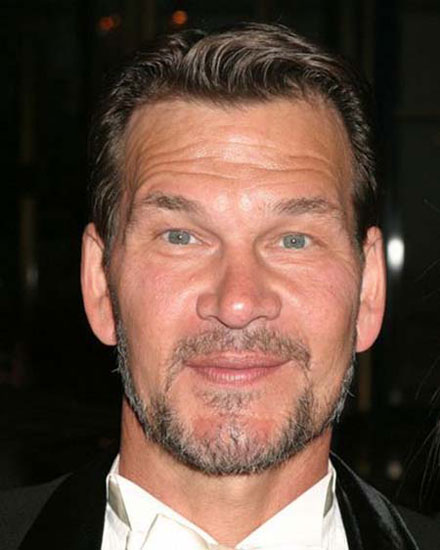 Patrick Swayze died on Sept. 14, 2009
