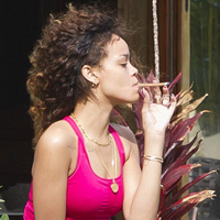From Around the Web: Rihanna Smoking Weed in Hawaii?