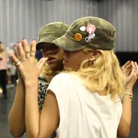 Rihanna is Preparing Serious Footwork  For Where Have You Been Music Video