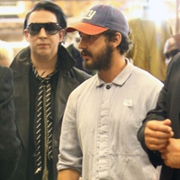 Good Friends: Shia LaBeouf And Marilyn Manson