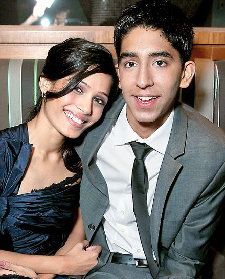Slumdog millionaire on-screen couple Freida Pinto and Dev Patel are an item