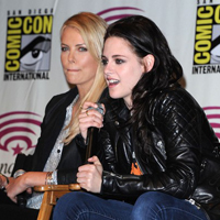 Charlize Theron and Kristen Stewart promote 'Snow White and the Huntsman' at WonderCon